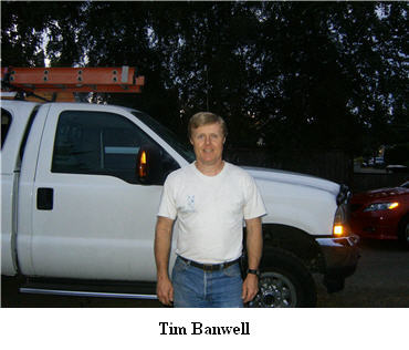 Tim Banwell of Beaverton Pest Control